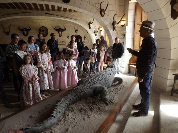 visite-enfants-chateau-Azay-le-ferron--2- © Château Azay-le-Ferron