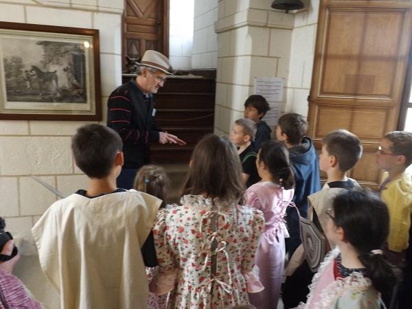 visite-enfants-chateau-Azay-le-ferron--3- © Château Azay-le-Ferron